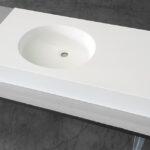 lavabo ovale corian